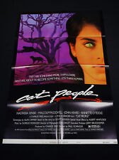 CAT PEOPLE 1982 * NASTASSIA KINSKI * NEAR MINT UNUSED STYLE-B ONE SHEET * SEXY!!