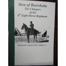 Men of Beersheba Chargers of the 4th Australian Light Horse Regiment 1917
