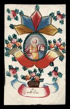 santino miniatura 1700 S.ODILIA DELL'ALSAZIA