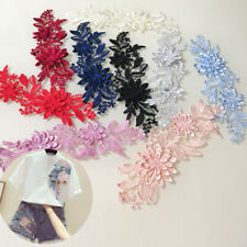 Applique Embroidery Sewing Lace Fabric Wedding Craft Trim Garment Supply