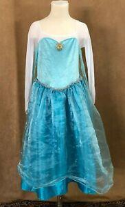 7 / 8 Queen Elsa Frozen Disney Store dress up costume collection child princess