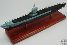 SS-423 USS Torsk Submarine Mahogany Kiln Dry Wood Model Small New