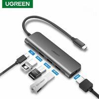 Ugreen USB C HUB Type C to USB 3.0 HUB HDMI VGA Thunderbolt 3 Adapter Fr Macbook