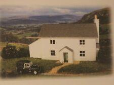 N gauge BarleyCorn Designs pre-cut Card Kit - P5 Hillside - White Stone Cottage