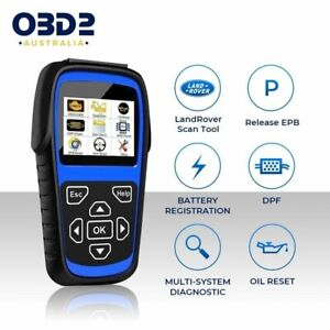 Land Rover Diagnostic Tool & Jaguar OBD2 Scan Tool Scanner - ABS, BMS, Airbags +