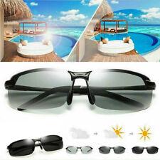 Polarisierte photochrome Sonnenbrille Herren UV-400 Fahrlinse Außenbrille DE