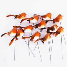 Christmas Robin on a Wire 11cm/4.5 Inches x Packet of 12