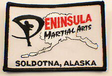Martial Arts Embroidered Uniform Patch Peninsula Alaska Soldotna #Msbk
