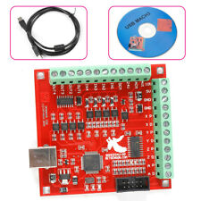 4 Axis Usb Interface Board Cnc Mach3 Motion Controller Card Board Withusb Cable Cd