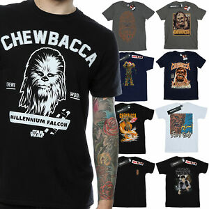 Chewbacca T-Shirt Mens Official Star Wars Merchandise