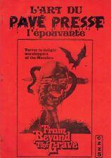 PAVÉS PRESSE ÉPOUVANTE (Pierre Charles) - BE