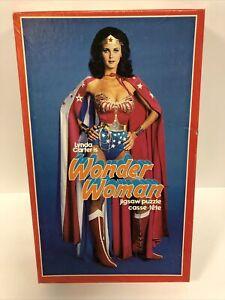 Vintage LYNDA CARTER WONDER WOMAN PUZZLE 1978 DC Comics--COMPLETE