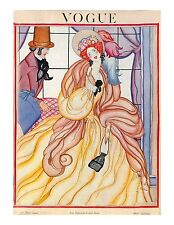 Vogue Paris Magazine, Reprint Mar 1922, Vol 4.5 Art Deco Fashion Drawings 1920's