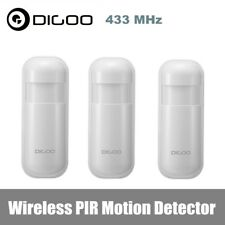 3x Digoo DG-HOSA 433MHz Wireless PIR Motion Detector Home Security Alarm System