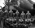 "Внешний вид - Boeing B-17G Flying Fortress Bomber ""Queenie"" w/h Crew 8x10 WWII WW2 Photo 963"