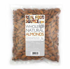 REALFOODSOURCE Whole Natural Almonds 1kg