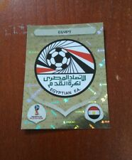 🆕 Panini FIFA World Cup 2018 Golden Sticker  Egypt emblem foil Number 72 rare