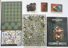 40k Rogue Trader Kill Team: Gellerpox Infected (23-mini)   NOS+Codex+Cards