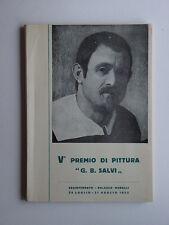 5. premio di pittura G. B. Salvi Sassoferrato, Palazzo Merolli 1955