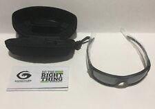 Gargoyles Men's Kyhber QTM Wrap Sunglasses -Navy Blue black grey  Metallic 62 mm