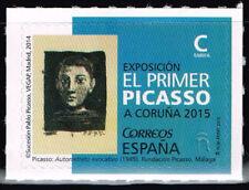 España 2015 Edifil 4932 Sello ** El Primer Picasso Conmemorativo Expo Coruña