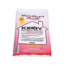 6 RED Genuine Kirby Bag Avalir & Sentria 1 & 2 Micro Magic Allergen HEPA 204814