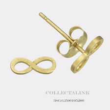 Authentic Dogeared Gold Dipped Small Infinity Stud earrings 3SGGZ00105298