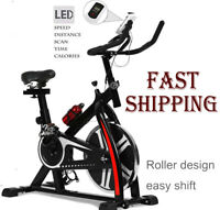 Bicycle Cycling Fitness Gym Exercise Stationary Bike Workout Machine Home Indoor