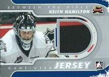 (HCW) 2011-12 Between The Pipes Jersey Silver KEITH HAMILTON /140*  Jersey 02282