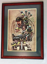 2005 Oregon DUCKS Football AUTOGRAPHED Collage PHOTO Signed BELLOTTI Aliotti SIG