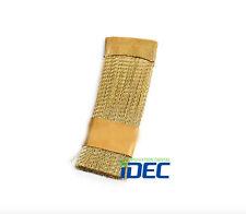 Dental Bur Drill Cleaning Brass Wire Brush Flat Dental Lab Instrument 2PCS