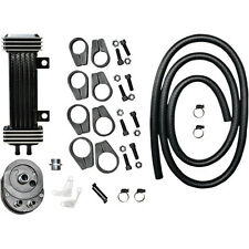 Kit Radiador Aceite Para Harley-Davidson Jagg Premium Oil Cooler Deluxe Kit