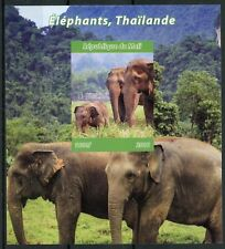 More details for mali 2018 mnh elephants in thailand 1v impf m/s trees wild animals stamps