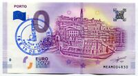 PORTO Portugal 0 Euro Souvenir Note 2018 Series 1 City of Porto with PINF stamp