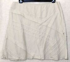 Monsoon Linen Plus Size A-line Skirts for Women