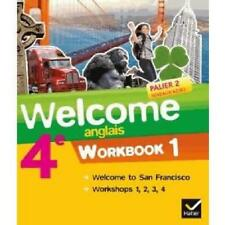 "MP027 Hatier ""Welcome to San Francisco"" Workbook 1 4e Palier 2 A2/B1"
