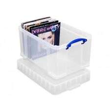 Really Useful Plastic Storage Box 140 Vinyl LPs Records DJ Accessories 48 XL