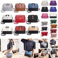 Women Faux Leather Handbag Satchel Cross Body Shoulder Bag Ladies Messenger Bags