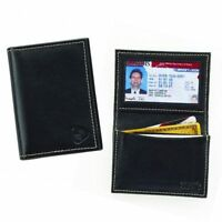 Lewis N Clark Mens Card ID Holder Leather RFID Blocking Wallet Card Security New