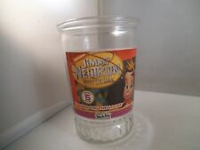 Vintage Jimmy Neutron Boy Genius Welch's Jelly Juice Glass 5 Yokians on Loose