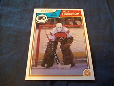 1983-84 OPC O-Pee-Chee #268 Pelle Lindbergh Rookie Flyers - nrmt