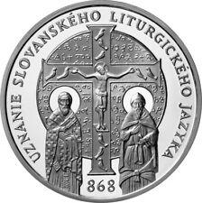 10 EURO COMMEMORATIVE DE SLOVAQUIE 2018 PROOF - LANGUE LITUGIQUE SLAVE