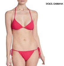 Dolce & Gabbana D&G Beachwear Petunia triangle bikini top w/ pouch
