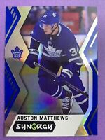 2017-18 Upper Deck Synergy Blue #30 Auston Matthews Toronto Maple Leafs