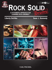 """""""Camp Jam: Rock Solid: Drums"""" Music Book/Cd-Learning Rock Drumset-New On Sale!"""