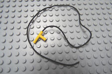 LEGO  Fireman Hose / String 35 Studs Long with Yellow Nozzle Lot of One