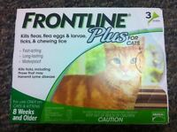 Frontline Plus Green for Cats 3 Month Supply