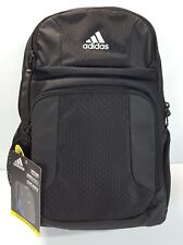 34f51ab448 Adidas Strength Backpack With Laptop Sleeve And Cooler Pocket Color Black