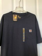 Carhartt Men's K87 Workwear Pocket Short Sleeve T-Shirt NEW WITH TAGS