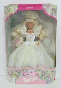 ROSE BRIDE BARBIE, 1996, NRFB